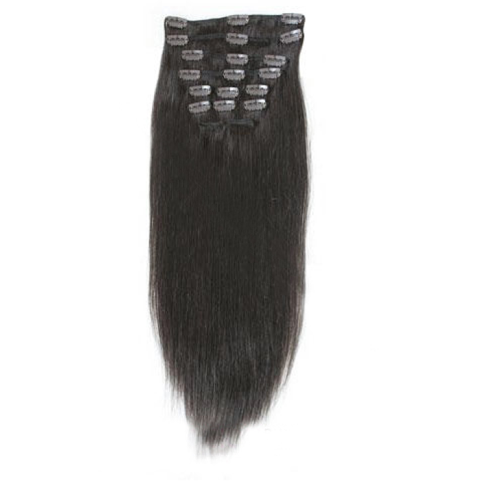 Virgin Remy Hair Clip On Extension 16