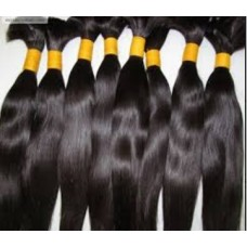 Virgin Remy bulk hair extension 28""