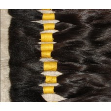 Virgin Remy bulk hair extension 20""