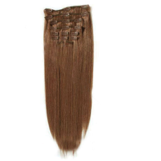 Virgin Remy hair clip on extension 28